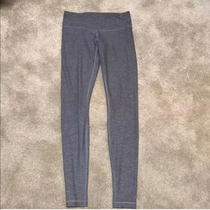 Gray LULULEMON pants.